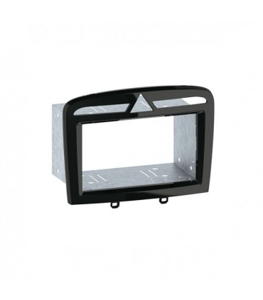 02PG03  - Frente adap. 2 Din Peugeot 308/308CC/RCZ - 02PG03