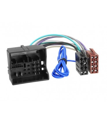 04VW02  -FICHA ADAP FAKRA>ISO VW/AUDI/SEAT/SKODA - 04VW02