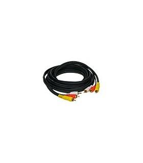 DLV500 -Cabo audio-video RCA M/M - 2222DLV500
