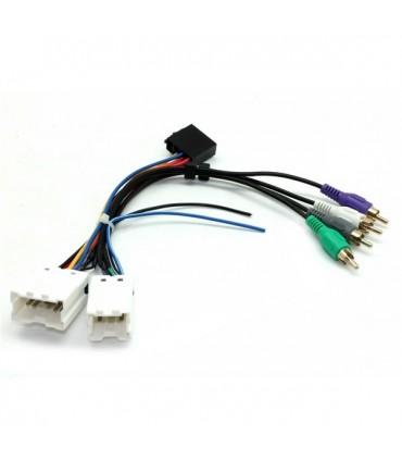 04NS05  -FICHA ADAP. NISSAN 350Z com Sistema Bose - 04NS05