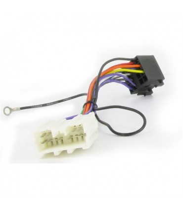 04MT02  -Ficha adap. Auto Radio Mitsubishi - 04MT02
