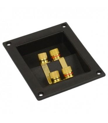 05CB4P  - Conector base quadrada caixa sub 4 polos - 05CB4P