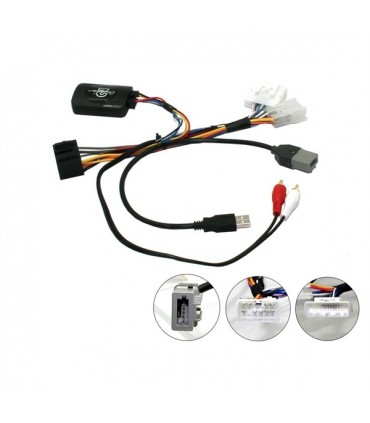 07IVCT10  -Interface comandos volante Citroen C1 2014> - 07IVCT10