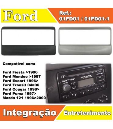 01FD01   -FRENTE ADAP.AUTO RADIO FORD - 01FD01