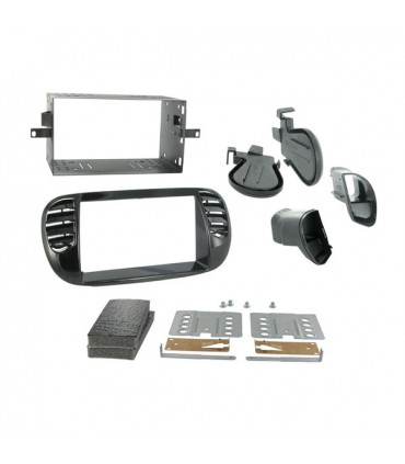 02FT22   -FRENTE ADAP. 2 Din  FIAT 500 - 02FT22