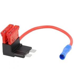 05DF10A -Suporte fusivel com cabo de distribuição 2 X 10A - 05DF10A