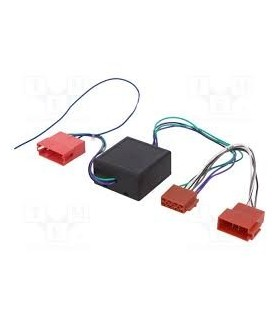 04AU09  - Adap. sistema activo Audi ISO/Mini ISO - 04AU09