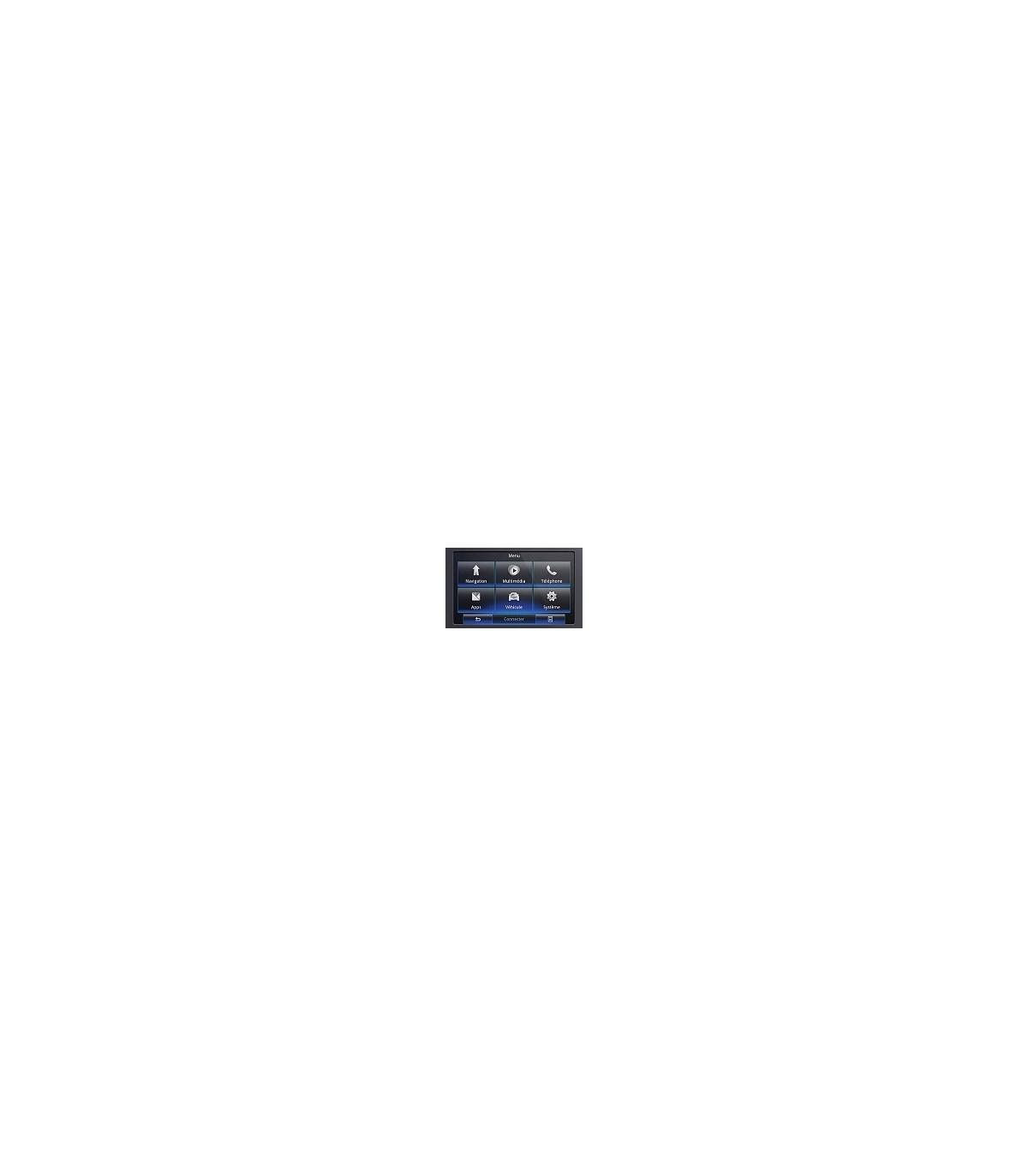 Interface Câmara Traseira Renault R-LINK2