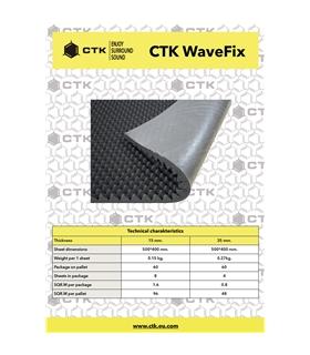CTK WaveFix 15mm   8 Unidades - CTKWAVEFIX15