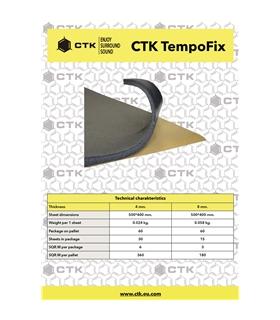 CTK TEMPOFIX  8mm 15 Unidades - CTKTEMPOFIX8