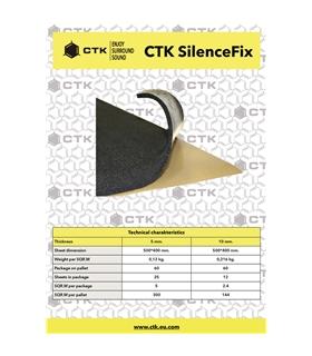CTK SILENCEFIX  5mm 25 Unidades - CTKSILENCEFIX5