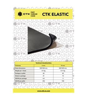 CTK ELASTIC 6mm 21 Unidades - CTKELASTIC6