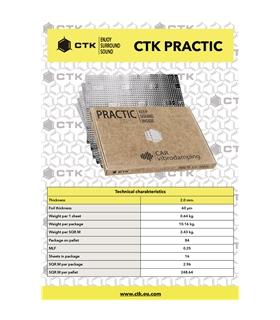 CTK PRACTIC  2mm  16 unidades - CTKPRACTIC