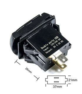 Tomada USB - 600157