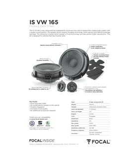 Focal IS VW 165 #4 - 1818ISVW165