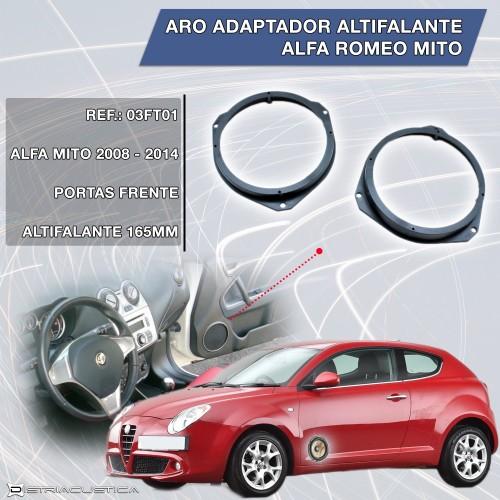 Alfa Romeo Mito adaptador altifalantes