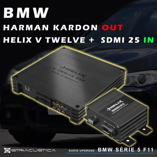 Melhorar sistema BMW Harman Kardon Bmw 5 f11