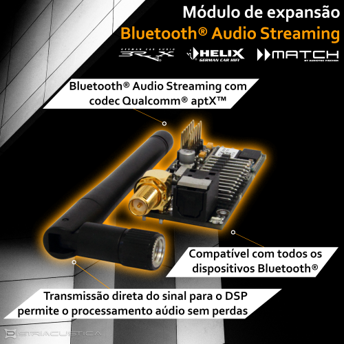 APTX Bluetooth® Audio Streaming