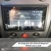 Integração 2Din Renault Megane II