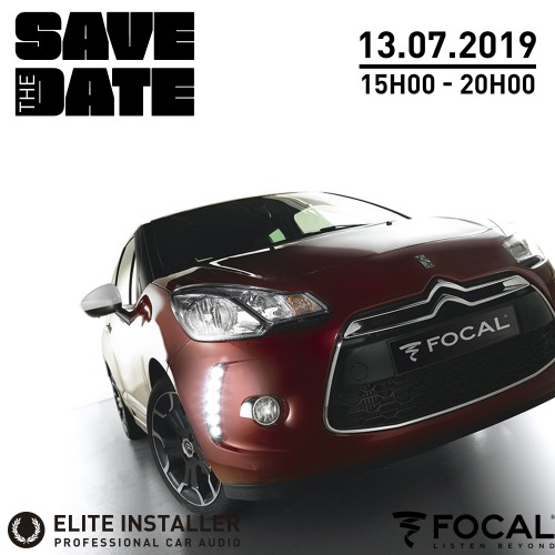 """""""Save the date"""" 13.07.2019"""