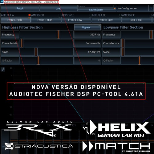Brax, Helix, Match DSP PC