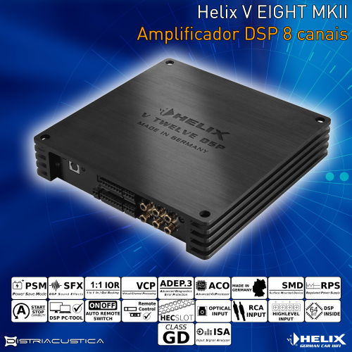 Helix V Eight DSP MK2