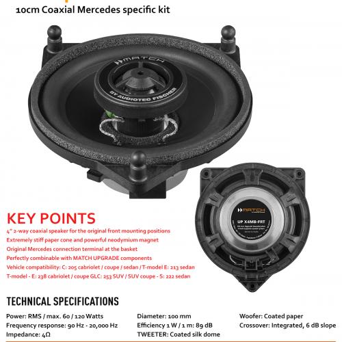 Mercedes GLC sistema de som
