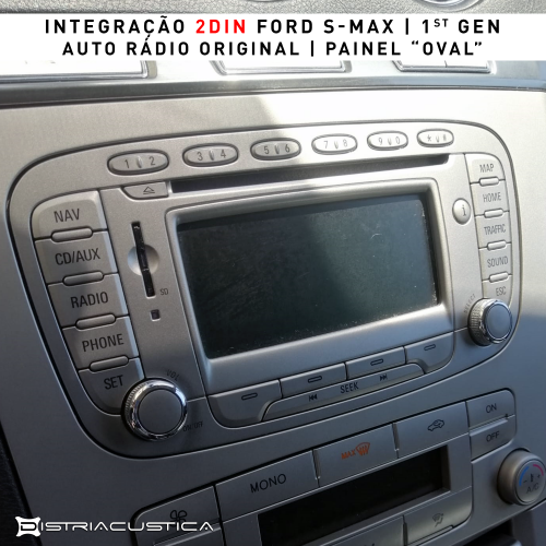 Ford S-Max 2din