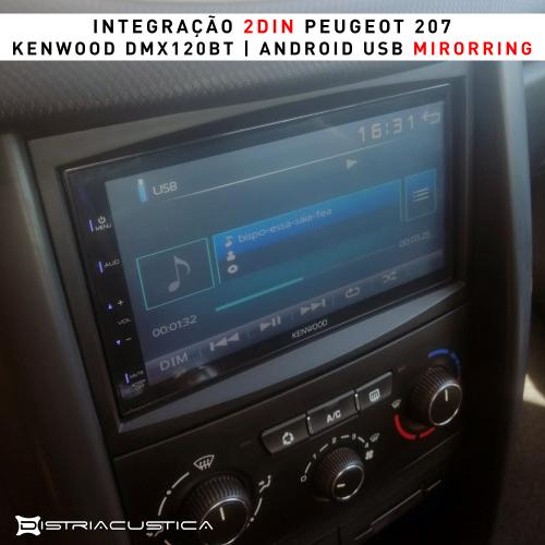 Peugeot 207 2din