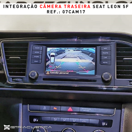 Seat Leon câmera