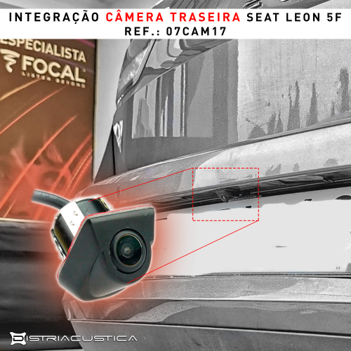 Seat Leon câmera universal
