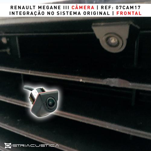 Renault Megane III câmera