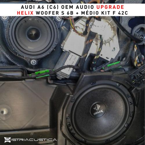 Audi A6 colunas frente