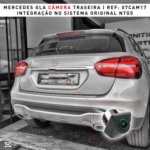 Mercedes GLA câmera traseira NTG5