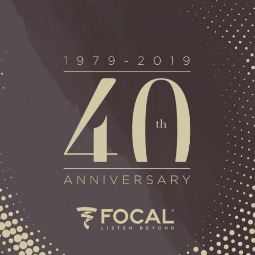 Kit Focal 40º aniversário