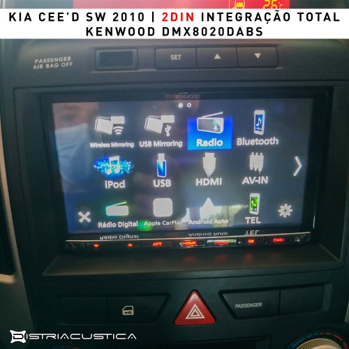 Auto rádio Kia Cee'd SW Carplay Android Auto