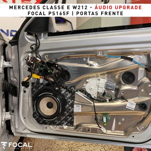 Mercedes Classe E W212 colunas Focal