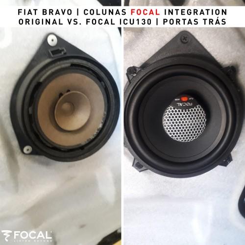 Colunas Fiat Bravo Focal Integration