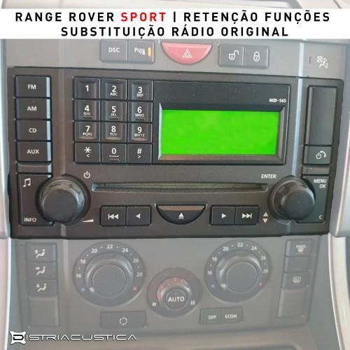 Range Rover Sport carplay android auto auto rádio
