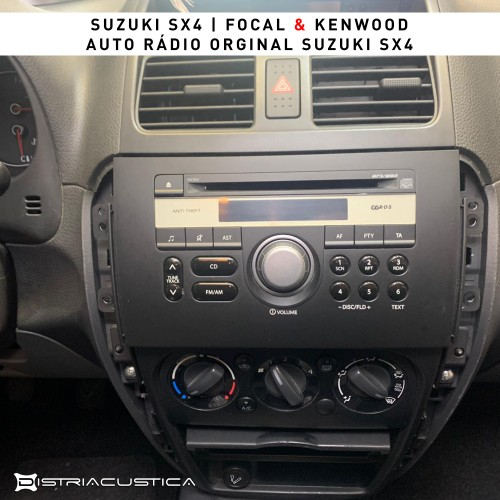 Auto rádio colunas Suzuki SX4