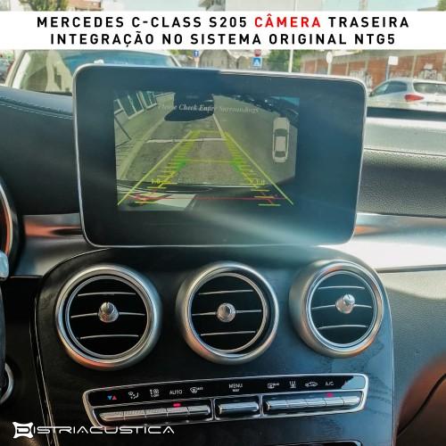 Câmera traseira S205 Mercedes Class C