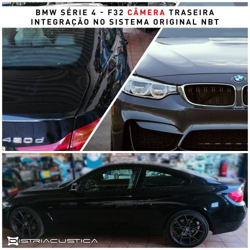 Câmera traseira BMW Série 4 F32