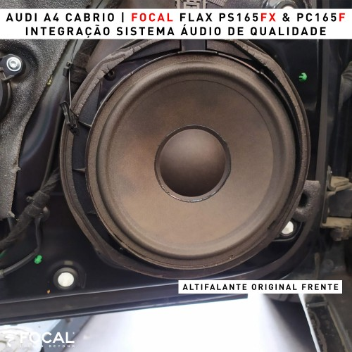Focal Flax Audi A4 colunas