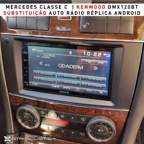 Auto rádio Mercedes Classe C w203