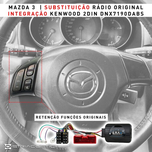 Auto rádio Mazda 3