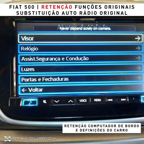 Auto rádio Fiat 500