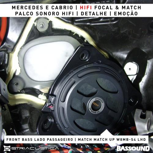 Sistema Hifi Mercedes Classe E A238 Focal Match