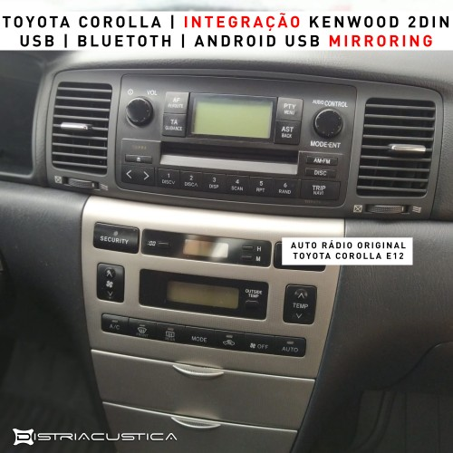 Auto Rádio Toyota Corolla E12