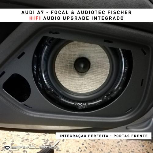 Audi A7 colunas