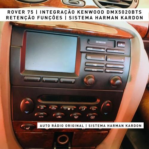Auto rádio Carplay Android Auto Rover 75